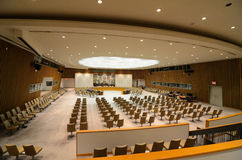 United Nations Security Council Chamber Stock Image