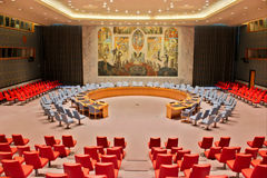 United Nations Security Council Room Stock Photo