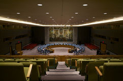 United Nations Security Council Room Stock Photos
