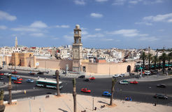 United Nations Square in Casablanca Royalty Free Stock Image