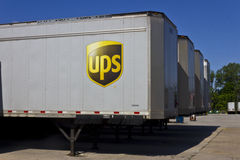 United Parcel Service Location I royalty free stock image