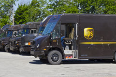 United Parcel Service Location IV royalty free stock photos
