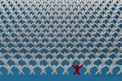 United people stock illustration