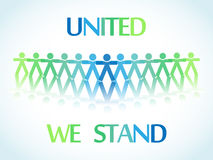 United people icons Stock Image