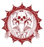 United skulls Stock Photography