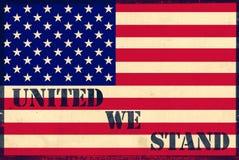 United we stand stock illustration