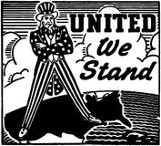 United We Stand Stock Photos