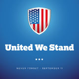 United we Stand - September Eleven Royalty Free Stock Photography