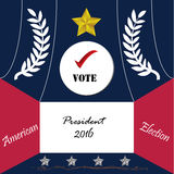 United State of America President election 2016 Stock Photos