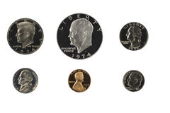 United state coins Royalty Free Stock Images