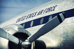 United States Air Force. Plane Royalty Free Stock Images