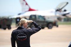 United States Air Force Thunderbirds Stock Photos