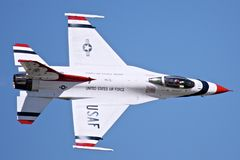 United States Air Force Thunderbirds Stock Image