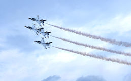United States Air Force Thunderbirds Stock Photography