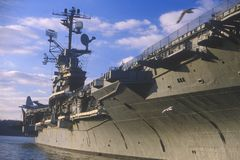 United States Aircraft Carrier Royalty Free Stock Images