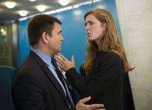 United States Ambassador to the United Nations Samantha Power Stock Image