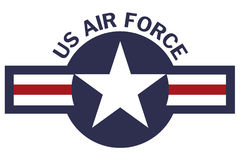 United States of America Air Force Roundel Stock Photography