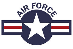 United States of America Air Force Roundel Stock Photos