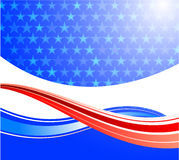 United States of America background Royalty Free Stock Image