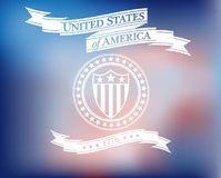 United States of America Background Royalty Free Stock Photo