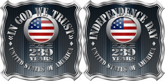 United States of America Badge Royalty Free Stock Image