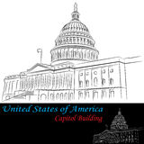United States of America Capitol Building Royalty Free Stock Image