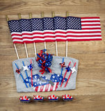 United States of America Celebration for Independence Day Object Royalty Free Stock Photo