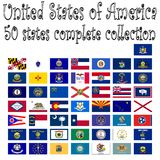 United states of america collection Royalty Free Stock Images
