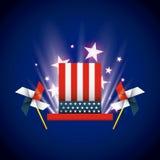 United states of america emblem Stock Photo
