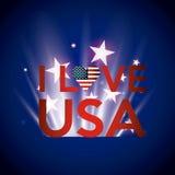 United states of america emblem Royalty Free Stock Images
