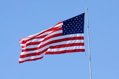 United States of America Flag Stock Image