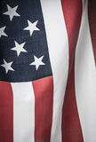 United States of America flag. American flag shot by itself on white Royalty Free Stock Photography