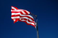 United States of America flag Royalty Free Stock Images