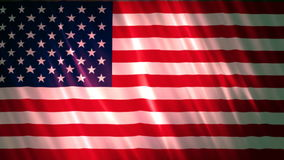 United states of America Flag 2. A Full HD, 1920x1080,  29.97 fps, seamlessly looped animation stock video footage