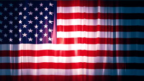 United states of America Flag 1. A Full HD, 1920x1080,  29.97 fps, seamlessly looped animation stock video footage