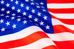 United States of America flag. Royalty Free Stock Photos