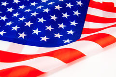 United States of America flag. Stock Photos