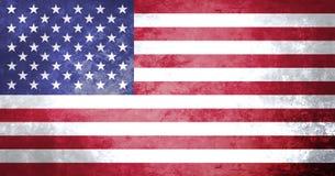 USA Flag Grunge Background Flag stock illustration