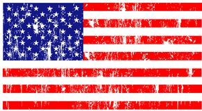 United states of america illus Royalty Free Stock Image