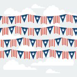 United States of America Independence Day seamless. Pattern Royalty Free Stock Photos
