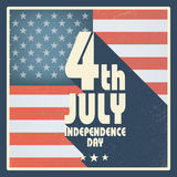 United States of America Independence day vintage Royalty Free Stock Images