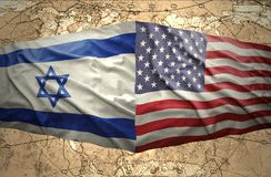 United States of America and Israel Stock Image