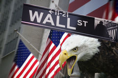 United States of America - New York Stock Exchange Royalty Free Stock Images
