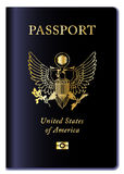 United States of America Passport Royalty Free Stock Photo
