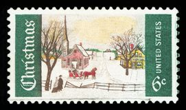 UNITED STATES OF AMERICA - Postage stamp royalty free stock photography