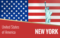 United States of America Red Stock Photo