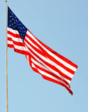 The United States of America`s symbol of freedom. The flag of the United States of America Royalty Free Stock Photography