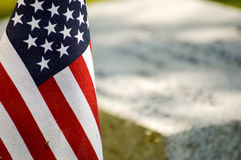 The United States of America`s symbol of freedom. The flag of the United States of America Stock Photography