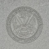 United States Of America Seal - War Office Stock Photo