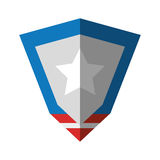 United states of america shield Royalty Free Stock Photo